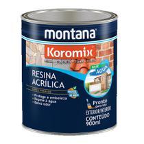 Resina Acrilica Base Agua Incolor Brilhante Koromix Montana 900ml -