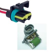 Resistencia Ventilador Radiador Conector Tc Chicotes Fiesta ecosport Kit 0061 -