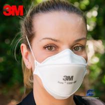 Respirador PFF2 3M Aura 9320 + BR - 3 M -