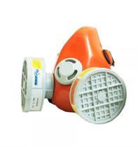 Respirador semi-facial p/ 2 filtro - 70031107 - plastcor -