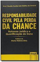 Responsabilidade civil pela perda da chance nature - Jurua -