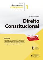 Resumos Para Concursos - Volume 1 - Direito Constitucional - 8ª Edição (2020) - Juspodivm -