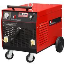 Retificador eletromecanico eletrodos/tig trr 425 dc - Bambozzi