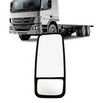 Retrovisor Caminhao Mb Comil Volvo Scania Bi Partido Medio Fixo Lado Motorista - Imola