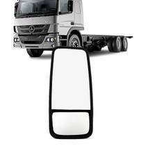 Retrovisor Caminhao Mb Comil Volvo Scania Bi Partido Medio Fixo Lado Passageiro - Imola