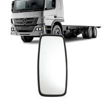 Retrovisor Caminhao Onibus Ford Gm Liso Estreito Grande Universal Fixo - Imola