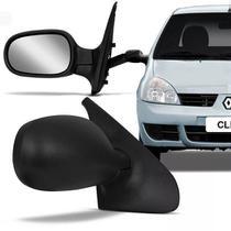 Retrovisor Clio 2000 01 02 03 04 05 06 07 08 09 10 11 2012 Regulagem Manual - Retrovex