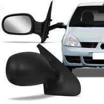 Retrovisor Clio 2000 2001 2002 2003 2004 2005 2006 2007 2008 2009 2010 2011 2012 com Controle - Retrovex