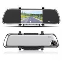 Retrovisor Com Câmera Pioneer Filmadora Dashcam + Câmera Ré -