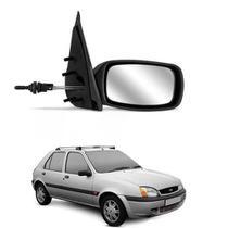 Retrovisor Externo Com Controle Ford Fiesta 1996 ATÉ 2002 Lado Direito Passageiro - Retrovex