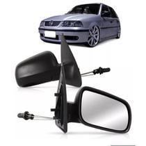 Retrovisor Gol 2 portas 1999 2000 2001 2002 com controle - Volkswagen