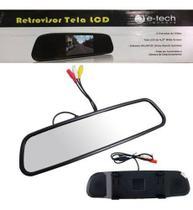 Retrovisor Interno Tela Lcd E-tech -