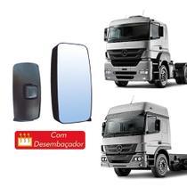 Retrovisor Mercedes Axor/Atego S/ Braço S/ Auxiliar LD - Globo