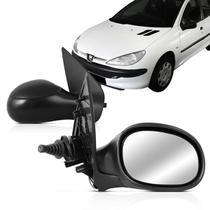 Retrovisor Peugeot 206 207 99 00 01 02 03 04 05 06 07 08 09 10 11 12 13 14 Controle Interno - Retrovex