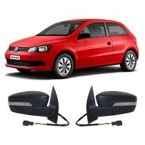Retrovisor Volkswagen Gol G6 2013 a 2016 2 e 4 Portas Cofran Espelho Elétrico -