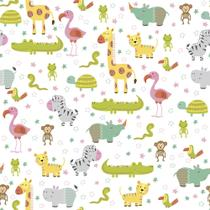 Revestimento Adesivo Baby Zoo - Contact