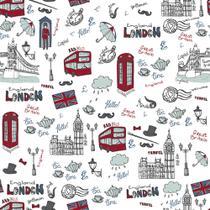Revestimento Adesivo Happy London - Contact