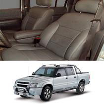 Revestimento Banco de Couro S10 Dupla até 2011 - Chevrolet