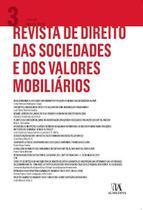 Revista De Direito Das Sociedades E Dos Valores Mobiliários - Vol. 3 - Almedina