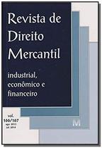 Revista de direito mercantil vol. 166/167 - Malheiros -