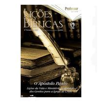 Revista Lições Bíblicas Adultos Profº 4º Trimestre de 2021 - CPAD