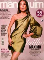 Revista Manequim Brilho Máximo, Vestido Verde Nº 720 - Escala