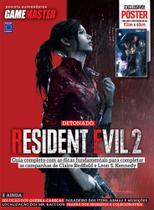Revista Superpôster - Detonado Resident Evil 2 (Claire) - Europa