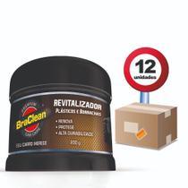 Revitalizador de Plástico Borracha Caixa com 12und Braclean -