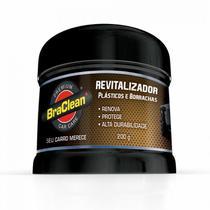 Revitalizador de Plásticos, Borrachas, Para-Choques Braclean -