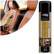 Revitalizador Hidratante Para Couro Automotivo 400 ml Spray Aerossol Limpa Hidrata Protege - Centralsul