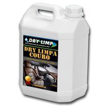 Revitalizador Limpa e Hidrata Couro, Banco, Jaqueta - 5 Litros Pronto para uso - Dry Limp