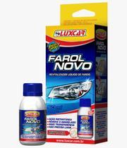 Revitalizador Líquido Farol Novo 50ml para Lentes Foscas e Amareladas Luxcar 4800 -