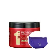 Revlon Professional Uniq One All In One Supermask - Máscara 300ml + Nécessaire Roxo Beleza Na Web -