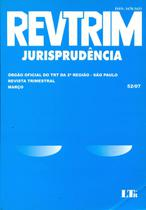 Revtrim Jurisprudência - Ltr -
