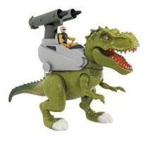 Rex Attack Lança Missil Dinossauro Tiranossauro Rex Adijomar -