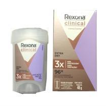Rexona clinical extra dry antitraspirante 48g women -