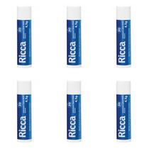 Ricca 2200 Hidratante Labial Fps30 Neutro 4,5g (Kit C/06) -