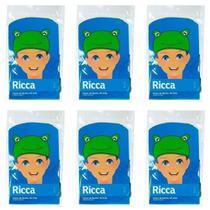 Ricca 3412 Touca De Banho Kids 3d (Kit C/06) -