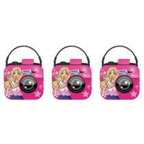 Ricca Barbie Câmera Digital Suave Shampoo 250ml (Kit C/03) -