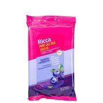 Ricca Mais que Blue, Berry! Blueberry + Probióticos - Lenço Demaquilante (25 Unidades) -