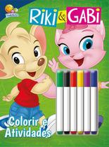 Riki e Gabi: Col. Colorir e atividades c/ canetinha - Todolivro -