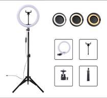 Ring light 14 polegadas 36cm + tripé 2.m + suporte - Ring Ful Light