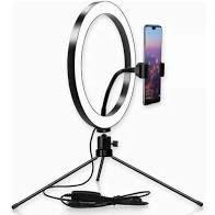 Ring Light 8 polegadas Mini Tripe -