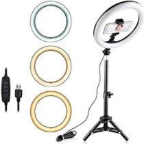 RING LIGHT COM TRIPE 33 cm - Luminária - Yepp Tech