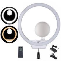 Ring Light Led Yongnuo YN608 + Espelho Maquiagem Selfie M18 - Tudoprafoto