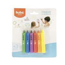 Risque e Apague para Banho Buba Colorido 3+ - 7473 -