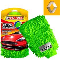 Rn 002420 - luva de microfibra para lavagem veículos - Luxcar