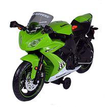 Road Rippers - Wheelie Bike Moto Kawasaki Ninja ZX-10R Verde - DTC -