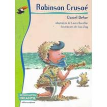 Robinson Crusoé - Col. Reencontro Infantil - 2ª Ed. Nova Ortografia - Scipione
