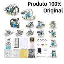 Robô 13 Em 1 Energia Solar - Kit Robótica Educacional - Ybx